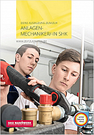 Flyer Anlagenmechaniker/in SHK